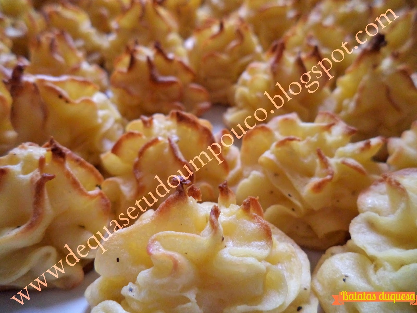 Batatas duquesa