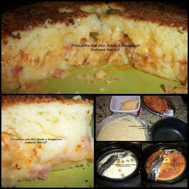 Torta de batata com  iogurte natural na massa NA AIRFRYER