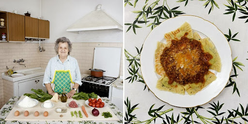 Fotógrafo viaja o mundo e registra diferentes comidas feitas por avós//BC Voltando a ser criança