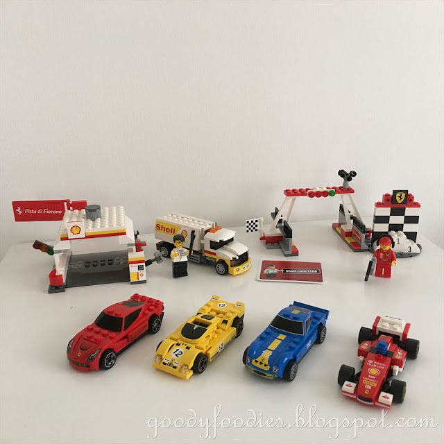 Family Bonding with Shell V-Power LEGO® Collection