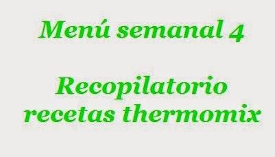 Menú semanal 4 con thermomix (28-noviembre-2014)