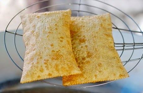 para usar massa de pastel de feira no forno