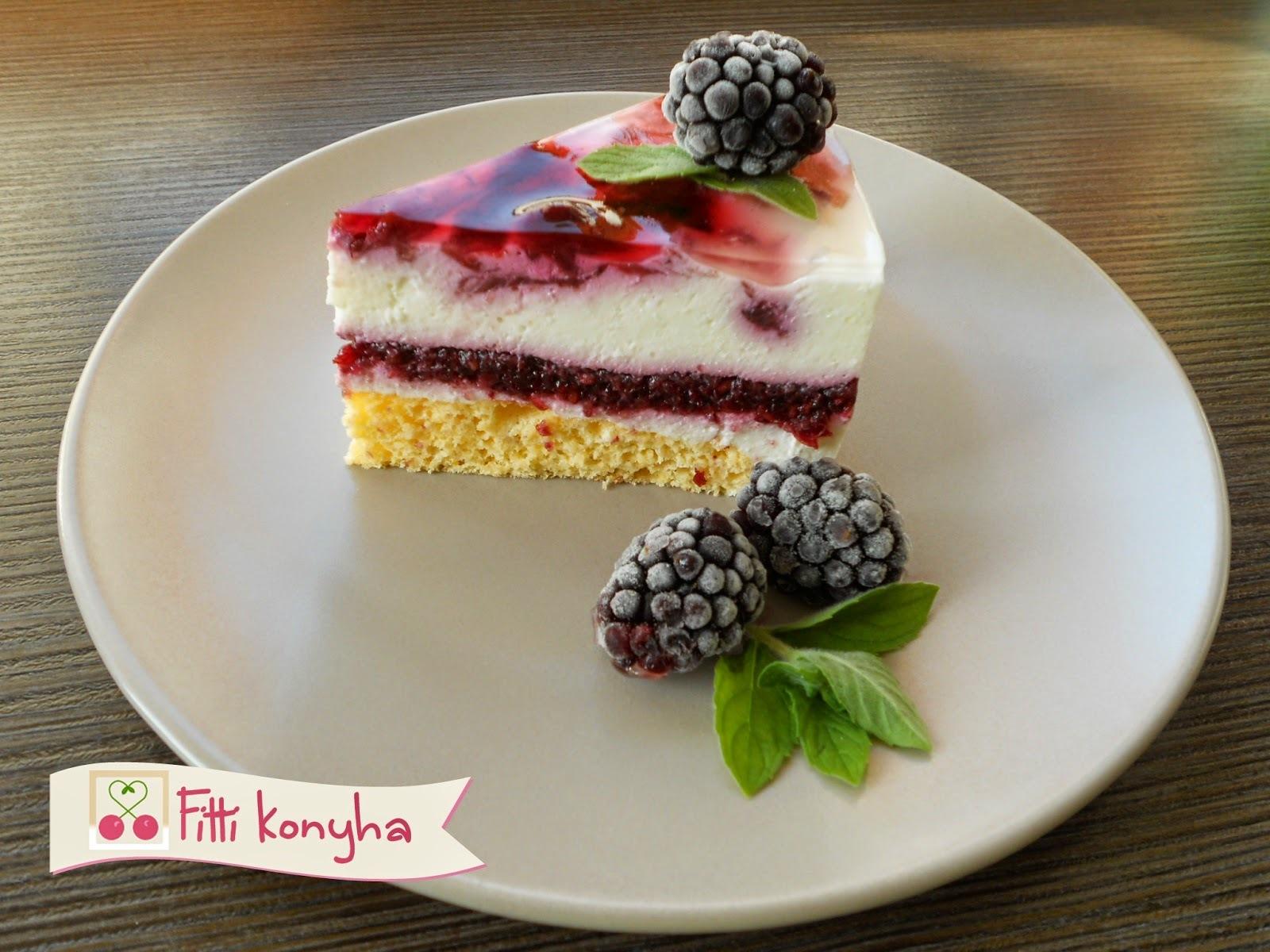 Valódi gyümölcsös réteg tortákhoz és pohárkrémekhez