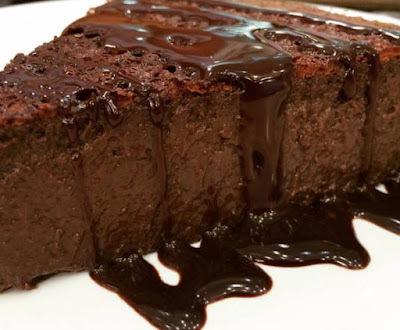 Bolo mousse de chocolate Ana Maria Braga