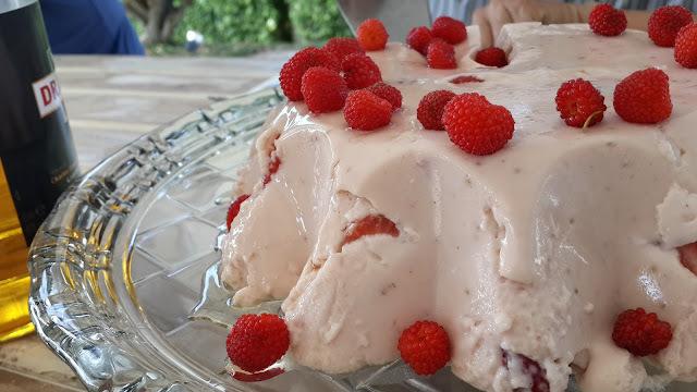 gelatina sem sabor horta e sabor caixa