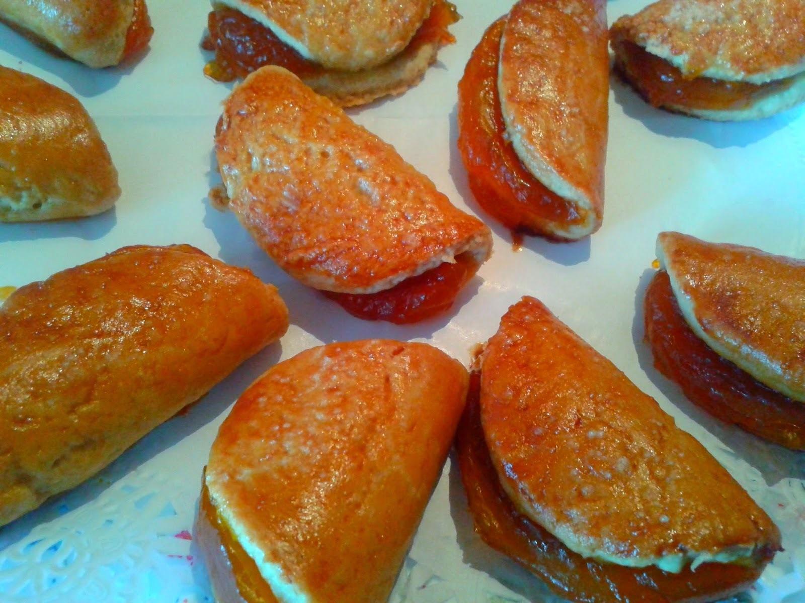 Pastissets Rellenos de Crema de Calabaza