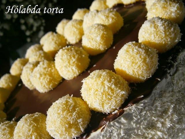 Hólabda torta citromhabtól