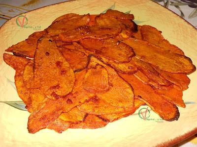 Boniatos al horno con pimentón y ajo (#500)