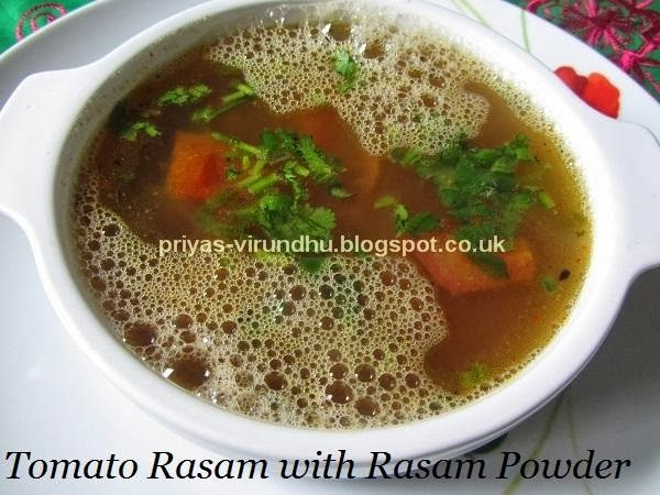 Easy & Quick Rasam with Rasam Powder/Instant Tomato Rasam