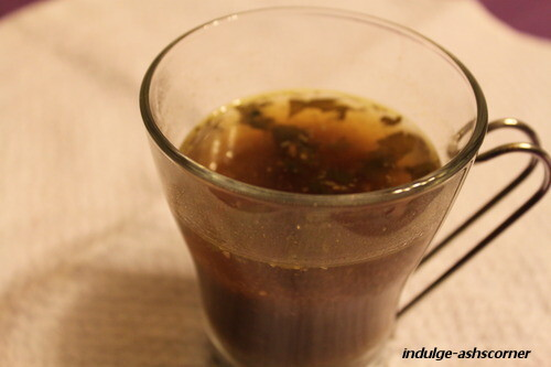 Sweet Rasam-Cooking with Pedatha series.