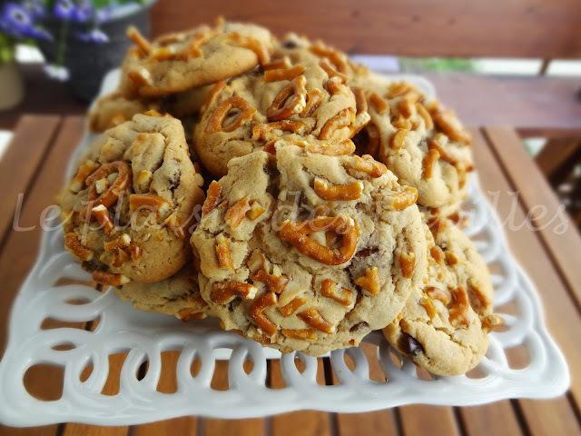 Biscuits au beurre d'arachide sucrés-salés