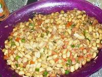 Salada de Soja em grão
