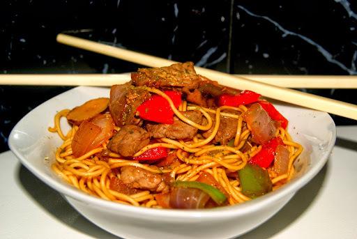 Noodles con Ternera y Verduritas