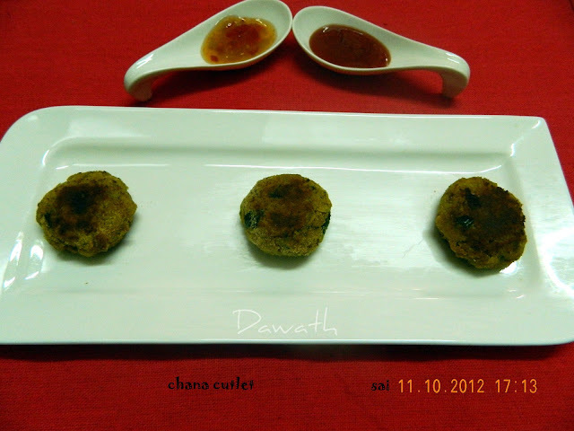 kabuli chana cutlet