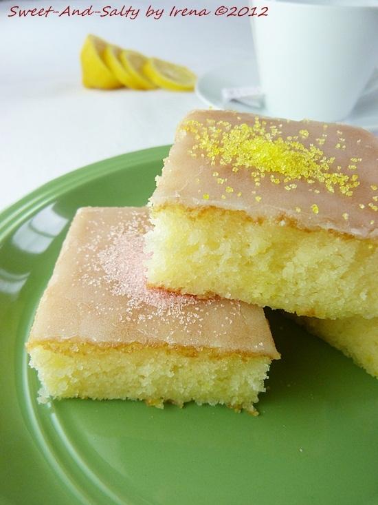 Kolač od limuna i jogurta / Lemon And Yogurt Cake