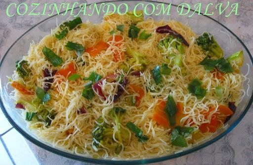 macarrao bem fino com curry