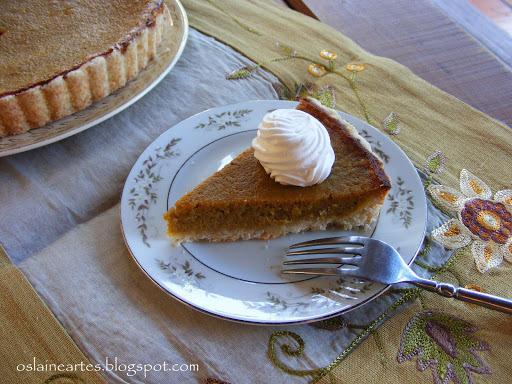Torta de Abobora ( Pumpkim Pie )