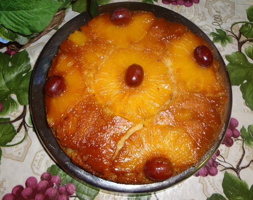 cake with pineapple essence eggless