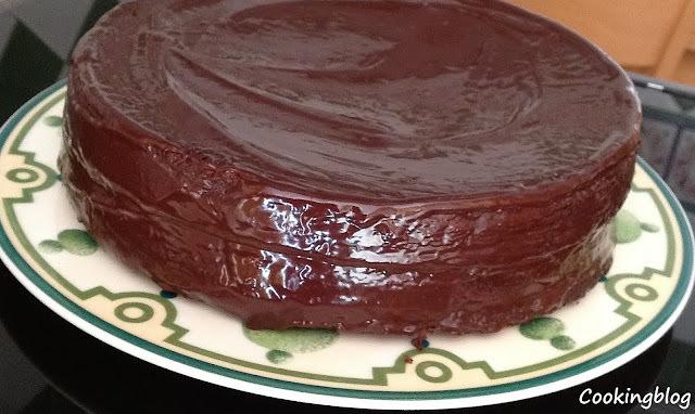 nata chocolate cobertura