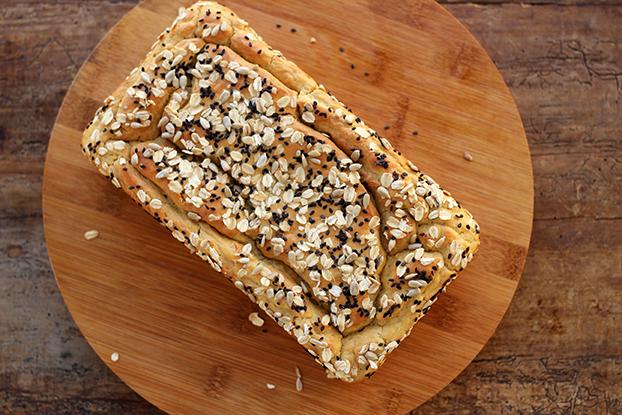 Pão sem glúten - Fácil e saboroso