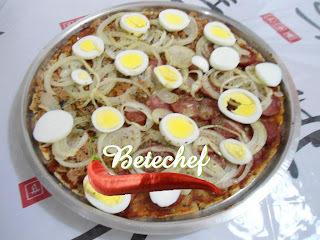 Pizza com Adição de Farinha de Aveia da Betechef