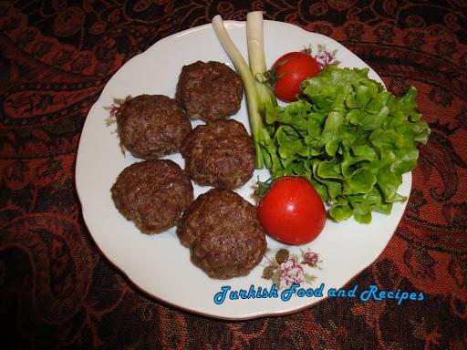 Baked Meat Balls (Firin Kofte)