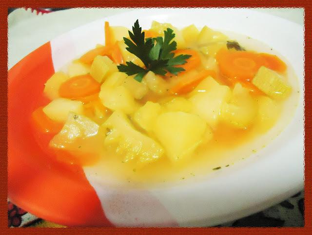 Receita: Sopa de Legumes