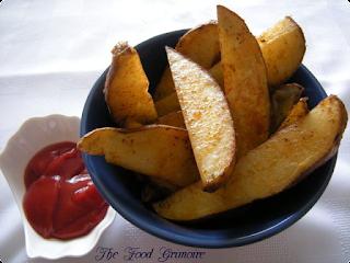 Frites au four - Ketchup maison