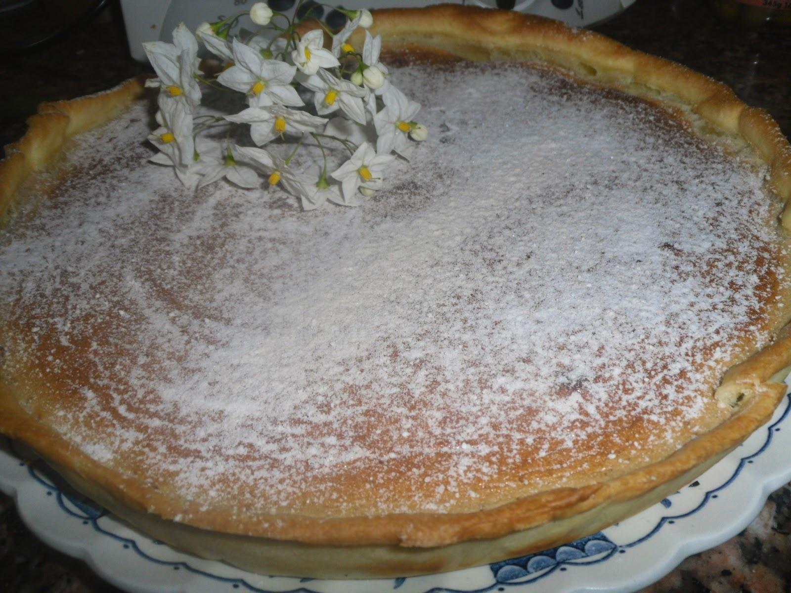 Tarte de feijão manteiga, nozes e leite condensado- Receita Bimby e tradicional