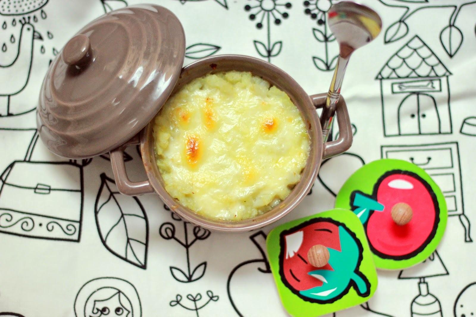 Petit gratin de chou-fleur à la raclette - dès 12 mois