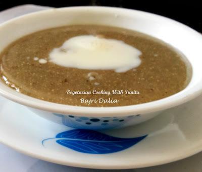 Bajri Dalia- Pearl Millet Porridge