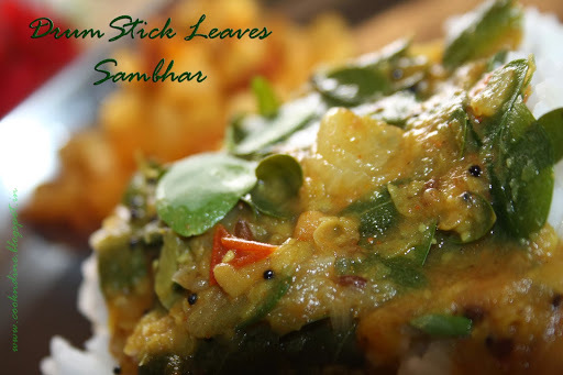 Drumstick Leaves Sambhar