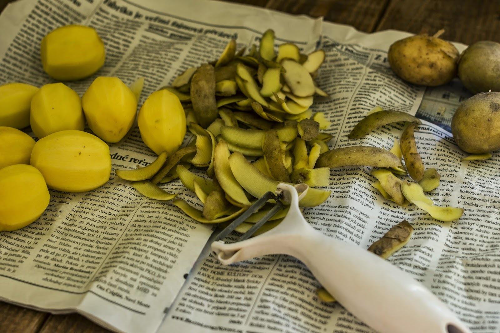 Cuketovo-zemiakové placky pečené v rúre