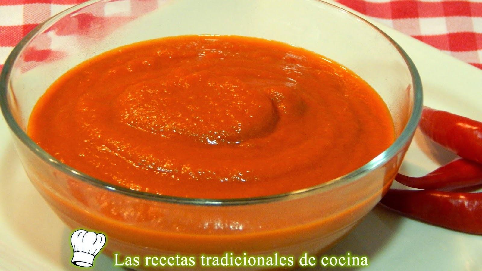 Receta fácil de salsa brava