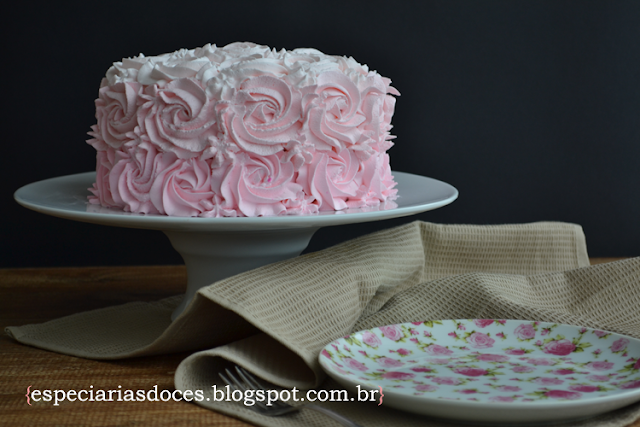 chantilly rosa receita
