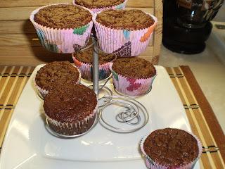 Paleo banános-csokis muffin