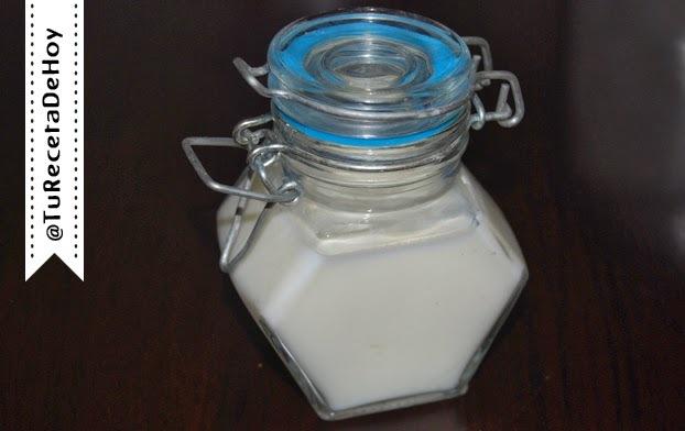 Buttermilk casero o suero de mantequilla