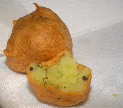 Bombayi bonda - indulging in the sinful eats