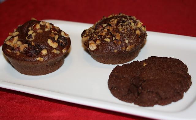 Muffins pommes de terre, chocolat et noisettes tupperware