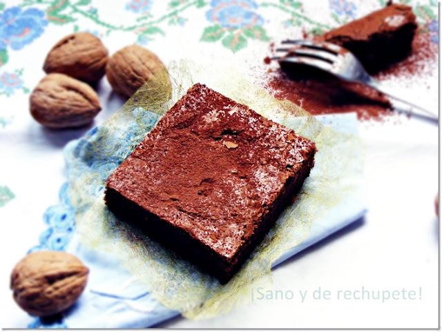 Cortadillos de brownie con aroma de café