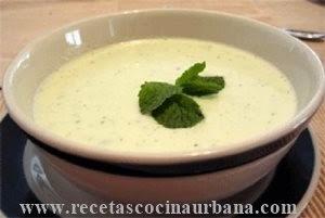 Cocina latinoamericana sopa fría de aguacate Cocina mexicana