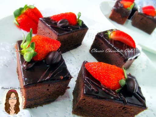 經典。巧克力蛋糕------------食譜編寫於【2013.07.17】