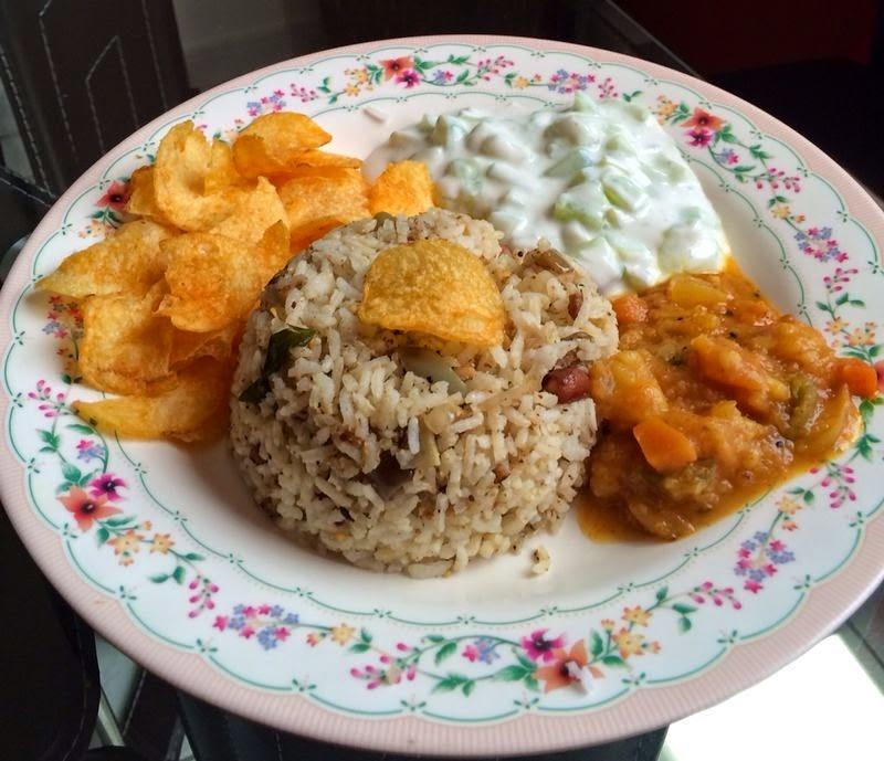 Vanghi Bhat ~ Brinjal Rice