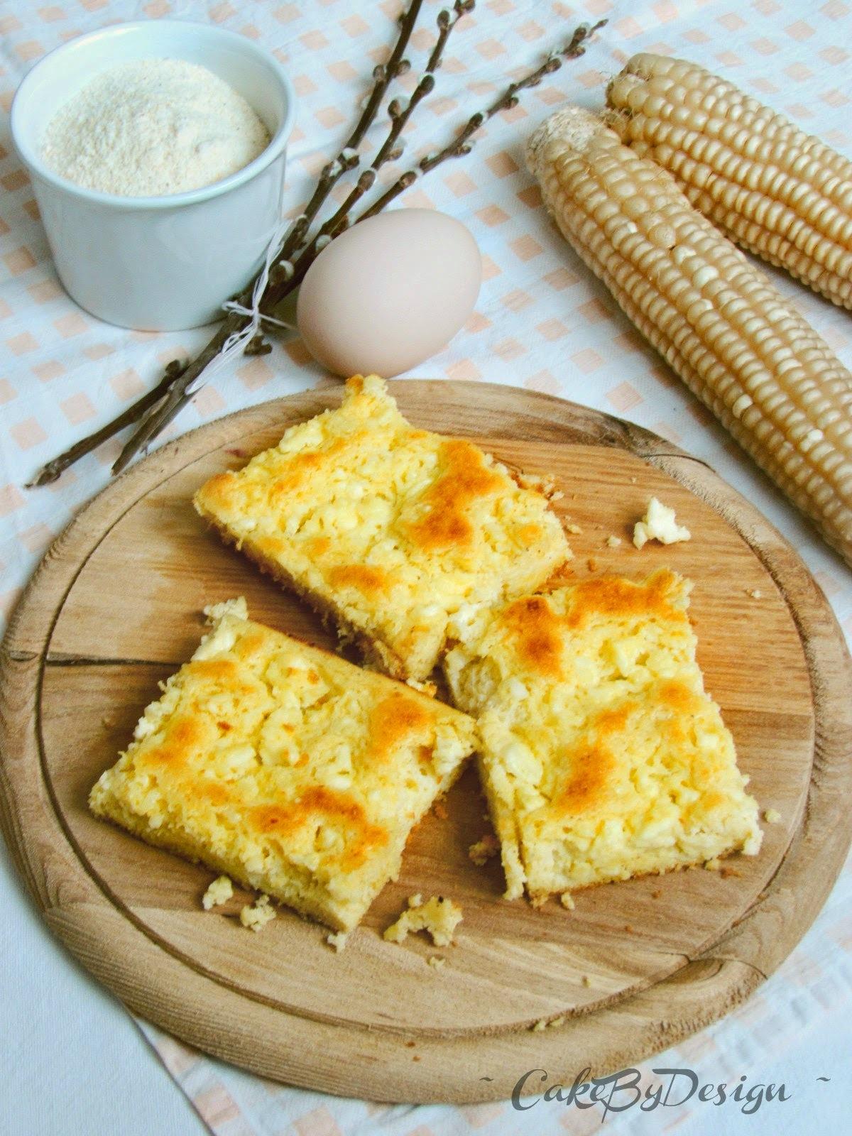 Kukuruzna zljevanka sa svježim sirom