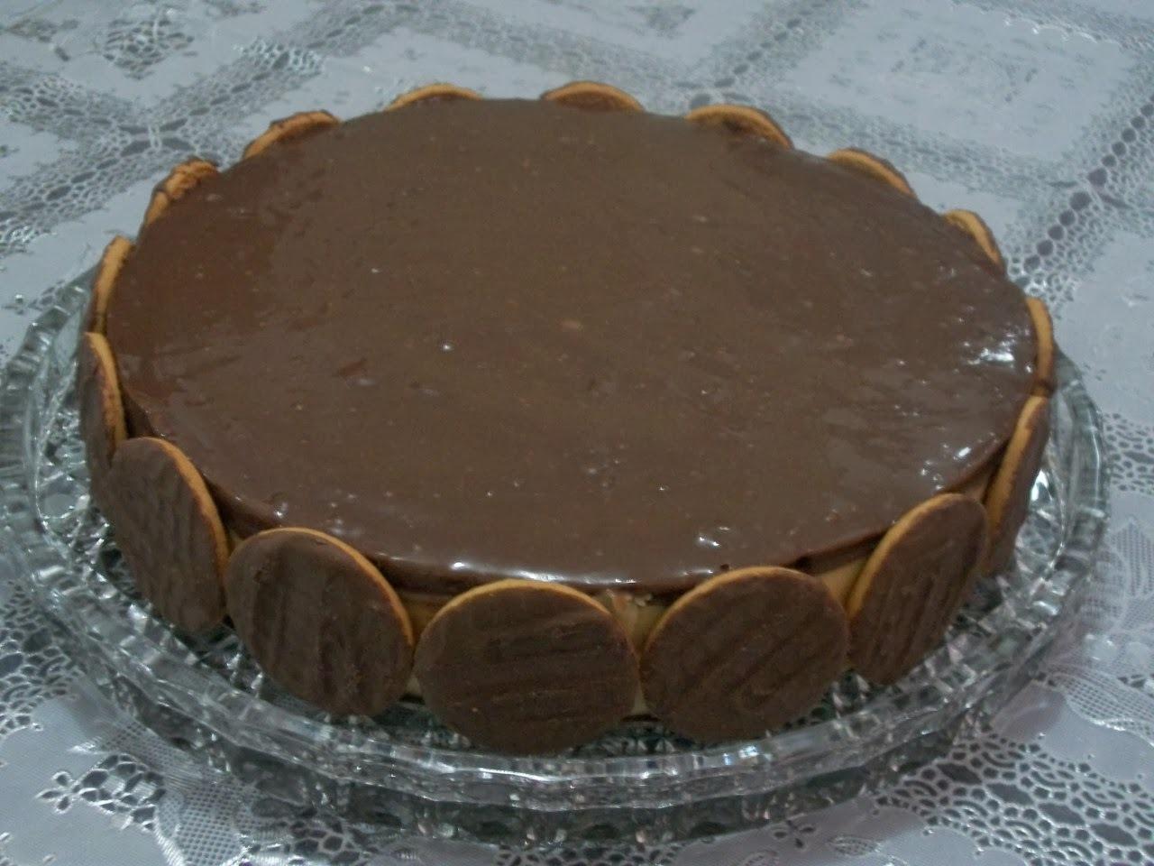 Torta holandesa mousse de maracujá