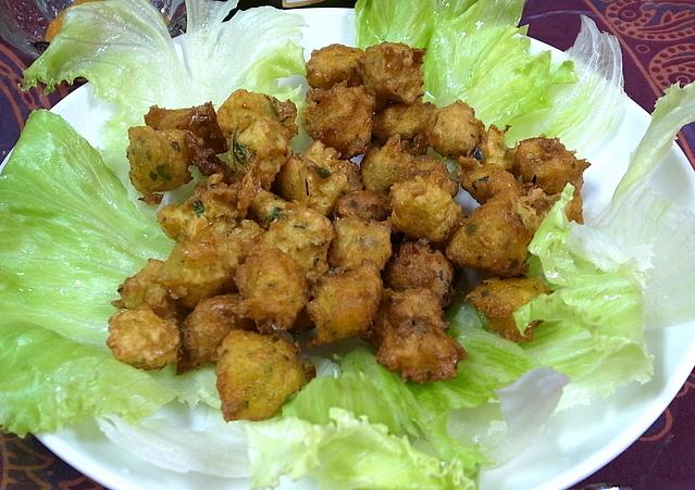 sweet corn bajji
