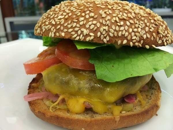 Hambúrguer do Chef