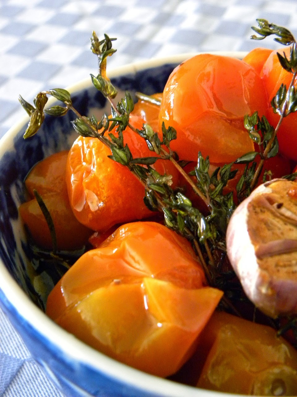 Tomates Cerejas Confit