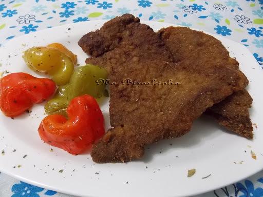 fígado bovino cozido