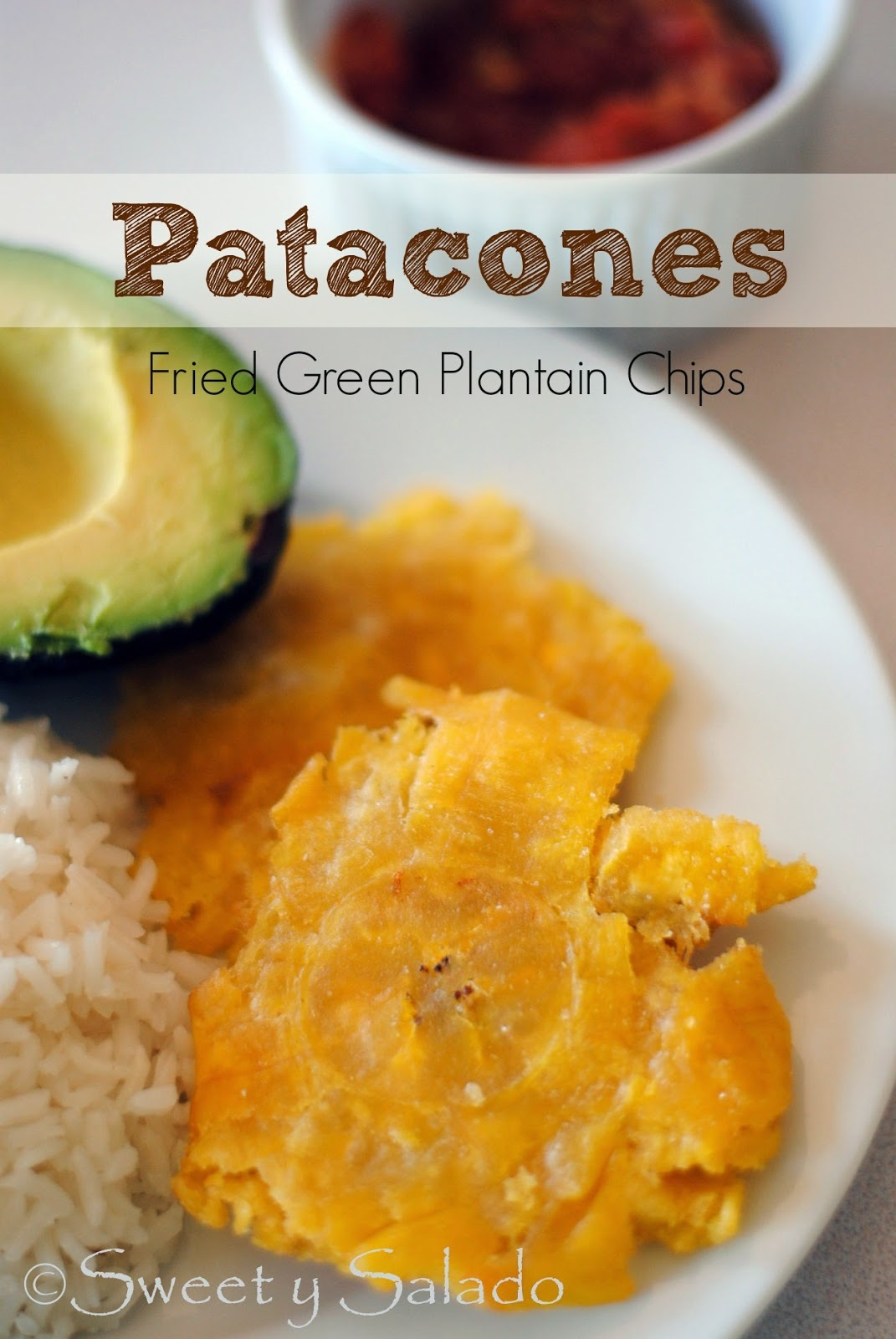 Patacones (Fried Green Plantain Chips)